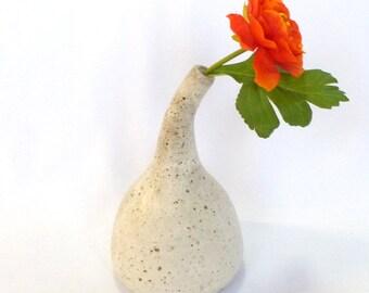 Handmade OOAK Stoneware BUD VASE