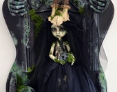 The plague.Custom doll by Sally's Song Dolls OOAK FREE SHIPING!
