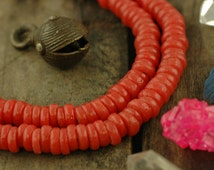 Popular items for african disc beads on etsy for Glass discs for crafts