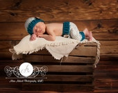 Baby Boy Hat with Shorties Pants Set, Baby Boy Hats, Crochet Baby Boy Hat with Shorts or Pants set -Newborn Photo Prop, Baby Boy Clothes
