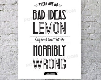 JACK DONAGHY Quote Poster 30 Rock