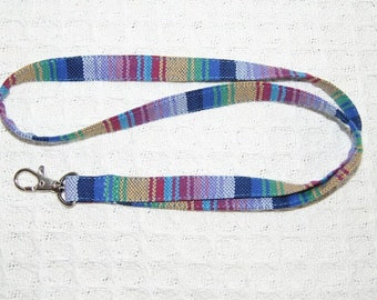 Lanyard ID Badge Holder Inka Storchenwiege , ID name card holder Babywearing Lanyard from Inka