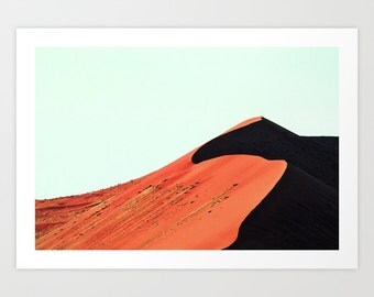 Africa Sand Dunes Photography Print