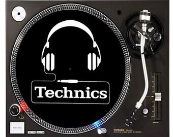 DJ Industries - Technics Headphones - DJ slipmat
