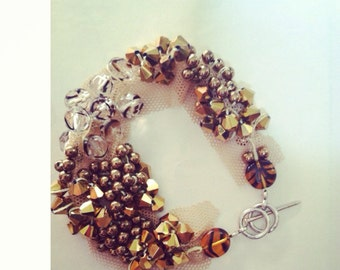 Ember cluster bracelet