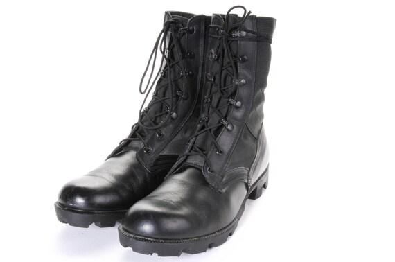 Men's Black Jungle Boots Size 11