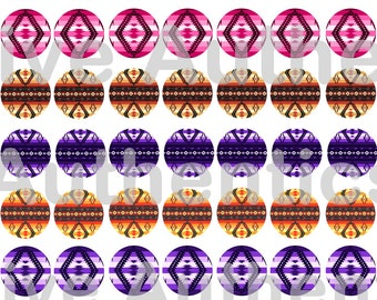 """1"""" Cab Southwest Native Design Bottle Cap Images Epoxy Stickers Download PDF"""