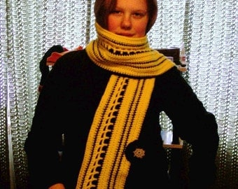 school bus scarf