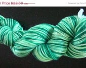 50% Off Sale Sock Yarn Beautiful 4 ply Falkland Merino Shamrock