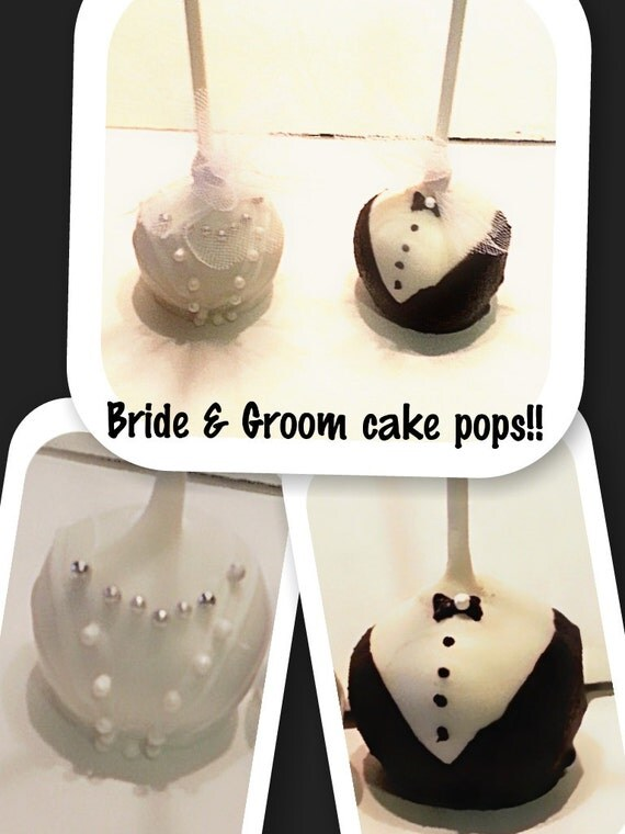 bride and groom wedding cake pops and groom wedding cake pops 12123