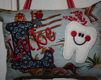 Tooth Fairy Pillow  Personalized  Custom Made