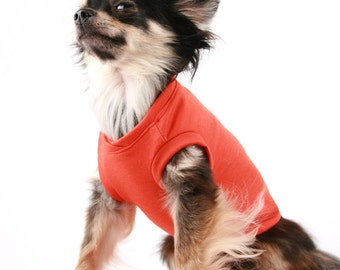 Dog clothes Summer Soild Tank pet shirts in all sizes!