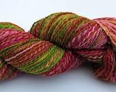 RESERVED fmanousou - Handspun Handdyed Merino/Silk Yarn - 245 yards