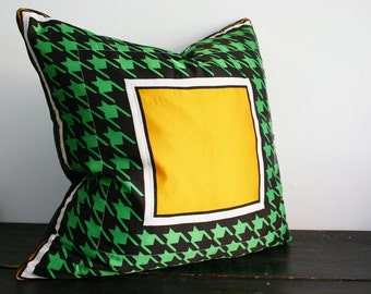 SALE- Gigantic Vintage Scarf Bohemian Floor Pillow