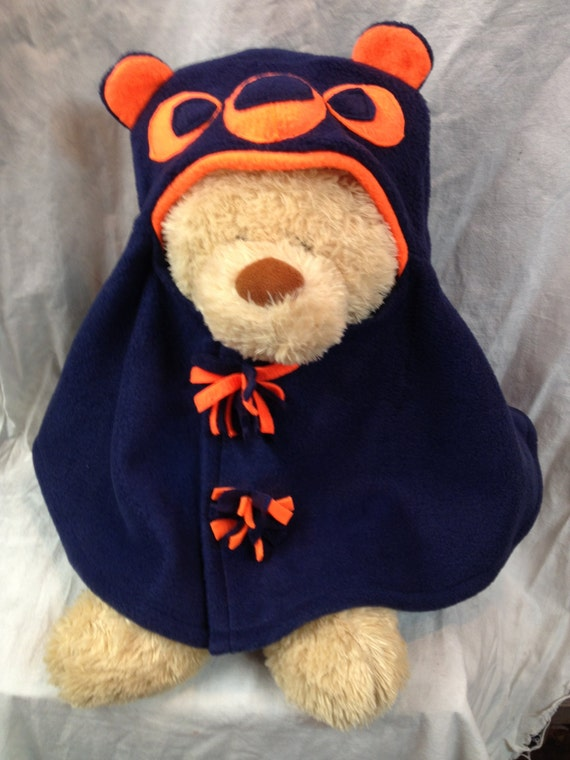 Chicago Bears Inspired Infant Capelet by DesignsbyAlisonUSA