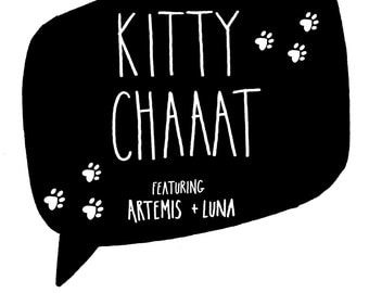 KITTY CHAAAT # 3 (Digital Comic)