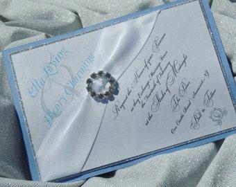 Cinderella Wedding Invitation - Cinderella Inspired Wedding Invitation