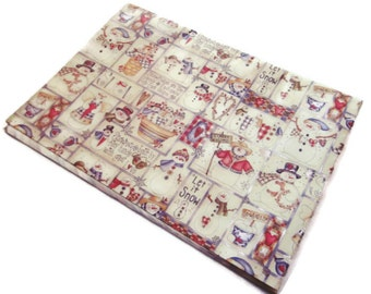 Vintage Gift Wrap -  Christmas Symbols - Christmas Wrapping Paper - Dianna Marcum - One Sheet
