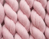 Cameo Pink Recycled Merino Lace Weight Yarn, 522 Yards Available in One Skein, Fine Italian Merino