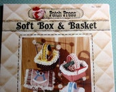 RESERVED for Lynn - 1979 Soft Box & Basket by Patch Press