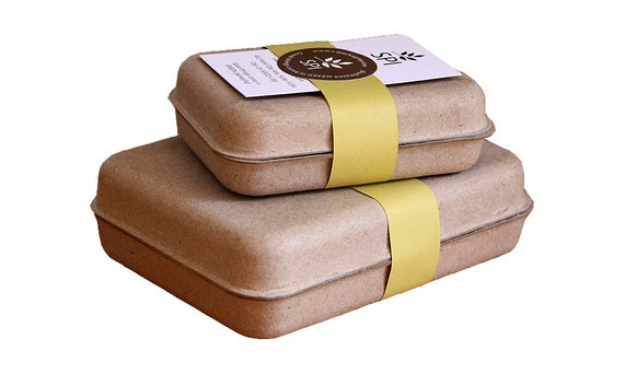 SMALL Clamshell (GK-001) - Eco Friendly and Stylish Packaging for Soap, Jewelry, Gifts, Party Favors and more...