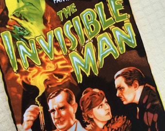 The Invisible Man Class Horror Movie Poster Bag
