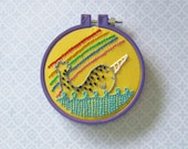 Narwhal Embroidery