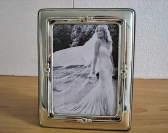 WEDDING GIFT Handmade Sterling Silver Photo Picture Frame 1014 13x18 GB new