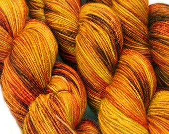 SHIRE Lord of the Rings hand dyed fingering sock yarn sw merino wool nylon