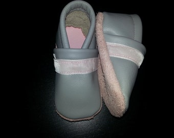 soft sole baby leather shoessamties rose