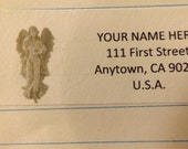 Angel Return Address Label
