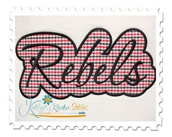 Rebels Applique Script