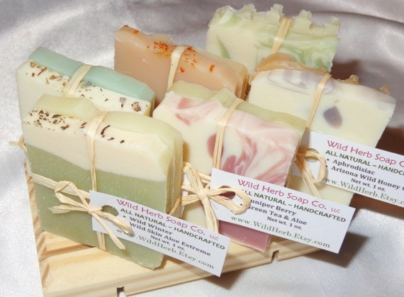 SHOWER FAVORS - Bridal, Baby, Party, Anniversary and more - Cold Processed Soap Sets