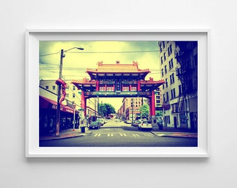 Chinatown gate etsy for International decor gates