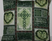 12x12 Bless Our Irish Home Accent Pillow