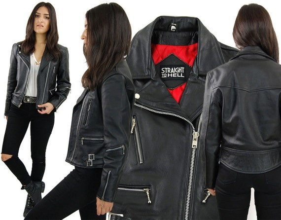 Straight Leather Jacket Jacket To