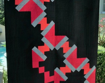 Jagged Edges Quilt Pattern - PRINTED Version
