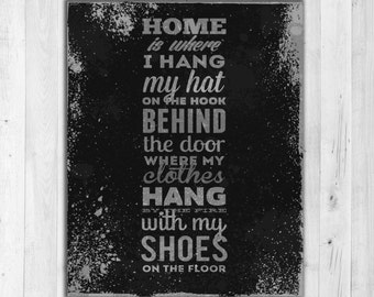 Home is Where... Cozy Housewarming Print