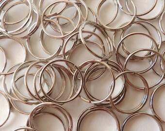 50 x 15mm Split Rings for Keyrings