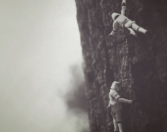 troopers climbing
