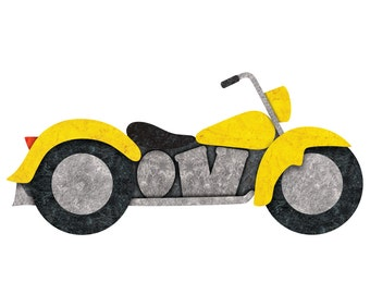 Motorcycle Decal Sticker for Boys Room Wall Mural