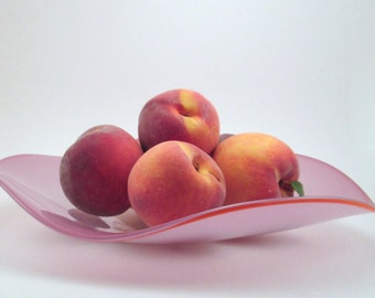 Pink Wave Bowl/Platter