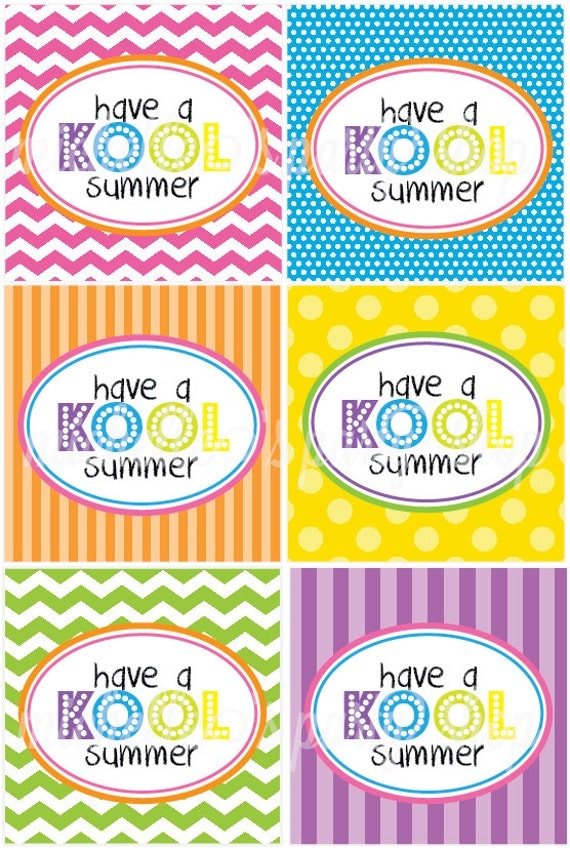 Kool Aid Summer Printables Printable Have a Kool Summer