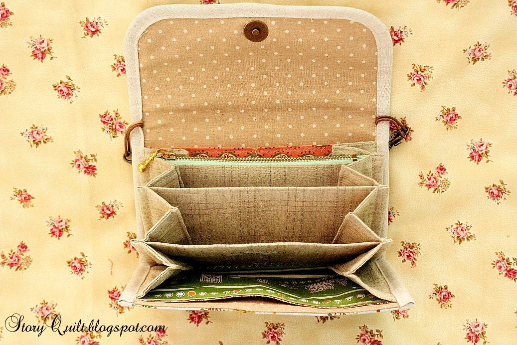 studio mio how to make accordion purse