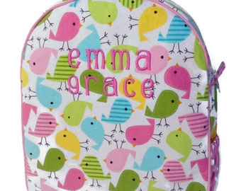 Personalized Toddler Backpack Girls Backpack Preschool