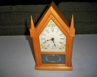 Vintage Mid Century Seth Thomas Electric Steeple Clock