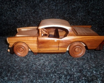 1957 Wooden Chevy Belair Handcrafted