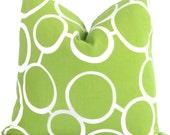 Trina Turk Green Sunglasses Indoor Outdoor Pillow Cover, Schumacher, 18x18, 20x20, 22x22 or 14x20
