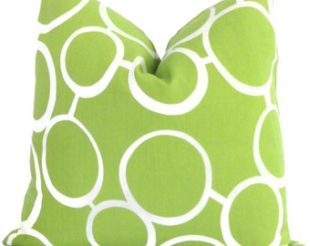 Trina Turk Green Sunglasses Indoor Outdoor Pillow Cover, Schumacher, Lumbar pillow