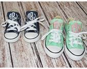 Toddler/Little Kids Monogrammed Converse Shoes